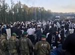 חסידי ברסלב בגבול בלארוס אוקראינה