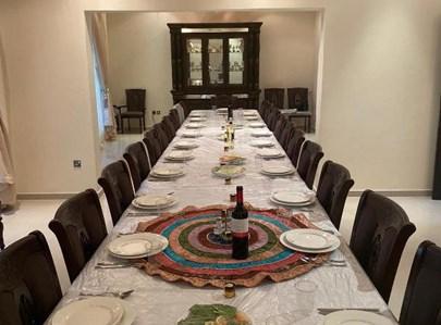 בית הכנסת באבו דאבי ערב ראש השנה