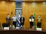 חתימת ההסכם בין ישראל לברזיל