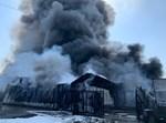 השריפה במפעל