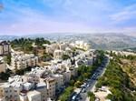 צילום אווירי מרחפן ערב חג סוכות בישראל