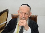 אלי קובין מביא לגדולי ישראל לולבים