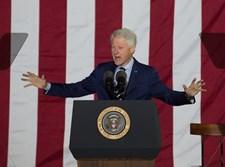 "ביל קלינטון, נשיא ארה""ב לשעבר"