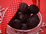 כדורי לוטוס מצופים שוקולד