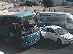חרדית שכמעט נדרסה על ידי אוטובוס