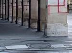 כתובות נאצה שרוססו בלב פריז