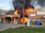 השריפה במרכז המסחרי