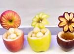 תפוחים מגולפים