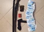 הרובה שנתפס ברשות החשודים
