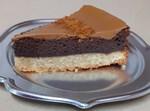 עוגת שכבות שוקולד ולוטוס