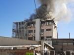 """השריפה בבניין מוסדות רמ""""א"""