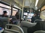 אוטובוס בניו יורק החרדית