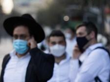חרדים עם מסכות ברחובות ירושלים