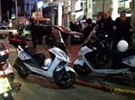 """אופנועי השיטור העירוני ב""""ב. אילוסטרציה"""