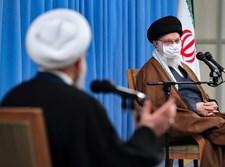 מנהיגי איראן חמינאי ורוחאני