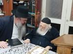 """הרב ברכר עם שר התורה הגר""""ח קנייבסקי"""