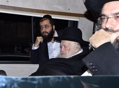 """הלווית הרב ברכר ז""""ל בלדרמן"""