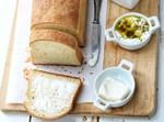 לחם לבן צרפתי חלבי, מפנק ורך במיוחד