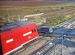 רגע התנגשות הרכבת
