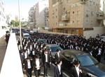 """הלווית הגר""""ד פיינשטיין זצ""""ל בירושלים"""