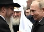 הרב לאזאר עם פוטין במפגש ראשי הדתות