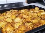 פרגיות ותפוחי אדמה עם סירופ מייפל בתנור