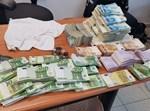 הכספים שנתפסו בידי החשוד