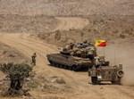 """כוחות צה""""ל בגבול סוריה"""
