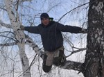 אלכסיי דודולדוב על העץ