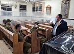 ראשי פיקוד העורף בבית הכנסת 'הראשונים'