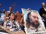 מפגינים בישראל למען שיחרורו של פולארד, ארכיון