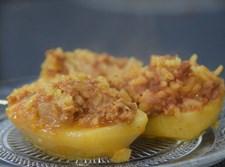 תפוחי אדמה ממולאים בבשר ואורז