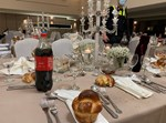 שולחנות ערוכים בחתונה