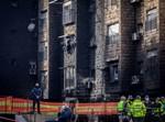 נזקי שריפת הענק ברחוב סורוצקין