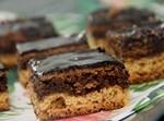 עוגת שכבות עם שוקולד וחלווה