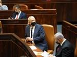 נתניהו וגנץ במליאה בהצבעה על פיזור הכנסת
