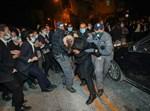 מעצר מפגין במחאה בירושלים