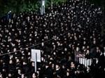 הפגנת חרדים בירושלים נגד קו הרכבת הקלה