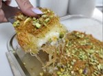 כנאפה – שערות קדאיף במילוי גבינות
