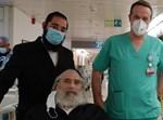 ר' אהרון משתחרר מבית החולים