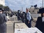 המשטרה בהר הזיתים הבוקר