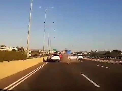 התאונה בכביש 22