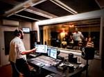 מוישי קראוס בהקלטות באולפן