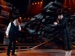 מוטי שטיינמץ ושולי רנד על הבמה