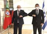 גבי אשכנזי בפגישה עם שר החוץ הפורטוגלי