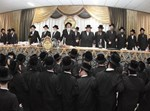 מעמד כבוד התורה וחנוכת הבית בישיבת בעלזא באשדוד