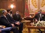 קושנר ובן שבת בפגישה עם מלך מרוקו