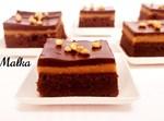 בראוניז חמאת בוטנים ושוקולד