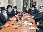 נציגי שלומי אמונים עם הוועדה הפוליטית