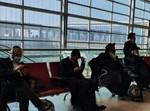 קבוצת החרדים בשדה התעופה